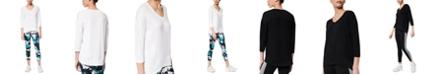 Marc New York Peaceful Yoga 3/4-Sleeve T-Shirt