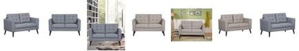 Us Pride Furniture Jolynn Fabric Loveseat