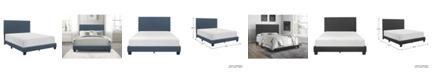 Homelegance Lenci Upholstered Bed - Full