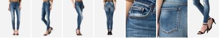 VERVET High Rise Distressed Skinny Ankle Jeans