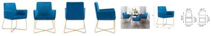 Zuo Honoria Arm Chair