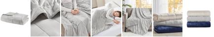 "Sleep Philosophy Mink to Microfiber Weighted Blanket, 48"" x 72"" - 15 lbs"