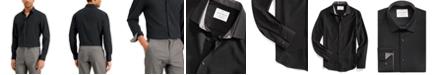 ConStruct Men's Slim-Fit Solid Performance Stretch Cooling Comfort Dress Shirt