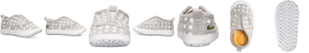 Lacoste Toddler Girls' Rene Crib Baby Shoes from Finish Line