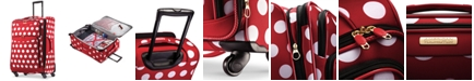 """American Tourister Disney Minnie Mouse Polka Dot 28"""" Spinner Suitcase"""