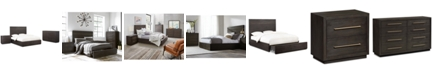Furniture Cambridge Storage Platform Bedroom Furniture, 3-Pc. Set (Full Bed, Dresser & Nightstand), Created for Macy's