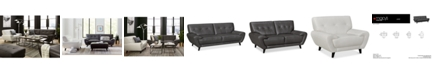 Furniture Lanz Leather Furniture Collection, Created for Macy's