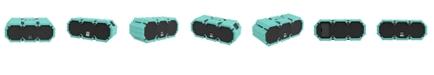 Altec Lansing  Mini Lifejacket S3 Waterproof Wireless Speaker - Mint Green