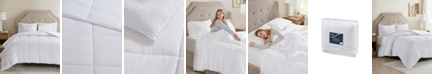 JLA Home Sleep Philosophy 300 Thread Count Twin Cotton Cover Tencel Filled Down Alternative Comforter with Antimicrobial Purista Odor Eliminator