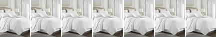 Colcha Linens Cambric White Comforter-Twin