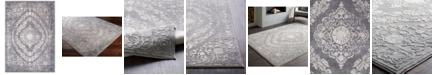 "Surya Tibetan TBT-2301 Medium Gray 6'7"" x 9'6"" Area Rug"