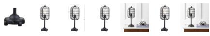 JONATHAN Y Odette Industrial Metal Table Lamp