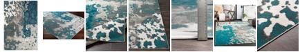 "Surya Rafetus ETS-2324 Teal 7'10"" x 10'3"" Area Rug"