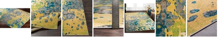 """Abbie & Allie Rugs Rafetus ETS-2325 Butter 18"""" Area Rug Swatch"""