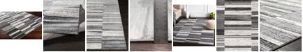 "Abbie & Allie Rugs Rabat RBT-2305 Medium Gray 18"" Area Rug Swatch"