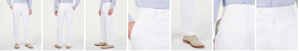 Tommy Hilfiger Men's Modern-Fit THFlex Stretch Solid White Suit Pants