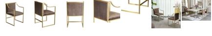 Armen Living Seville Dining Chair, Quick Ship