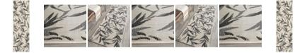 "Safavieh Courtyard Beige and Anthracite 2'3"" x 6'7"" Sisal Weave Runner Area Rug"