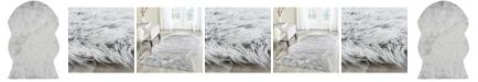 Safavieh Faux Sheep Skin Light Gray 4' X 6' Area Rug