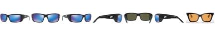 Costa Del Mar Polarized Sunglasses, PERMIT 62