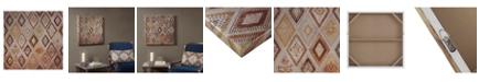 JLA Home Madison Park Be Dazzled Metallic Canvas with Beads Embellishment