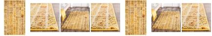 Safavieh Monaco Yellow and Multi 3' x 5' Area Rug