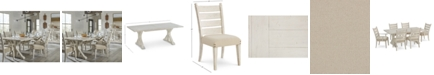 Furniture Trisha Yearwood Coming Home Dining Furniture, 7-Pc. Set (Table, 4 Side Chairs & 2 Arm Chairs)