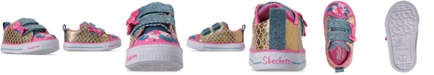 Skechers Toddler Girls' Twinkle Toes: Shuffle Lite - Mermaid Parade Casual Sneakers from Finish Line