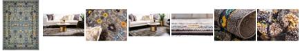 Bridgeport Home Sana San5 Gray 7' x 10' Area Rug