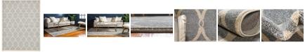 Bridgeport Home Arbor Arb6 Light Gray 9' x 12' Area Rug