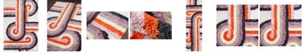 """Novogratz Collection Novogratz Retro Ret-5 Lavender 5' x 7'6"""" Area Rug"""