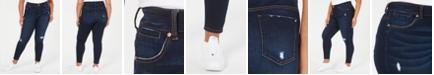 Celebrity Pink Plus Size  Distressed Skinny Jeans