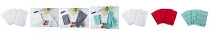 Design Imports Chevron Luxury Bar Mop, Set of 4