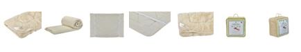 Sleep & Beyond Mydual, Washable and Reversible Wool Mattress Pad, Crib