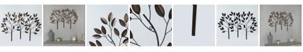 Luxen Home Metal Trees Wall Decor