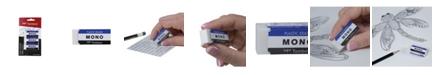 Tombow MONO Eraser, Medium, 3-Pack