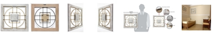Infinity Instruments Square Modern Hanging Wall Decor