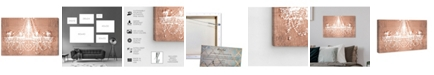 "Oliver Gal Dramatic Entrance Rose Canvas Art, 24"" x 16"""