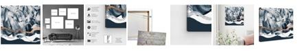 "Oliver Gal Bath in Copper Mountain Canvas Art, 24"" x 24"""