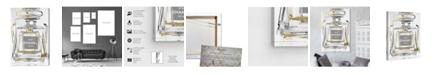 "Oliver Gal Infinite Glam Light Gray Canvas Art, 30"" x 45"""