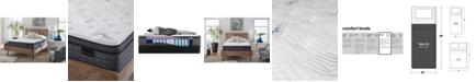 "King Koil Luxury Willow 13.5"" Plush Euro Top Mattress- Twin XL"