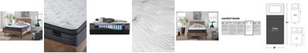 "King Koil Luxury Willow 13.5"" Plush Euro Top Mattress Set- Twin"