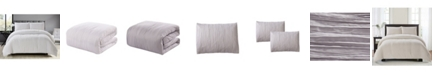 Lily & David Crease 3 Piece Comforter Set, King/California King