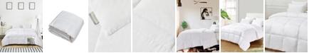 Kathy Ireland Ultra-Soft Nano-Touch All Season White Down Fiber Comforter, King