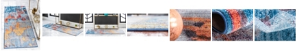 "Jill Zarin Tribeca Downtown Jzd005 Multi 2'2"" x 6' Runner Rug"
