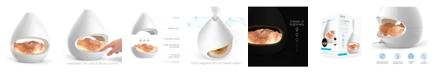 Pure Enrichment PureGlow Crystal Salt Lamp & Diffuser