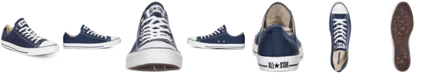 Converse Men's Chuck Taylor Low Top Sneakers from Finish Line