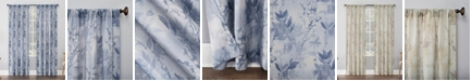 "No. 918 Hilary Floral 54"" x 63"" Semi-Sheer Curtain Panel"