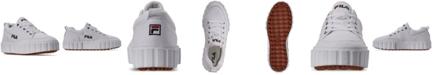 Fila Women's Sandblast Low Casual Sneakers from Finish Line