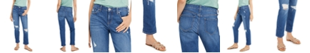 INC International Concepts INC Ripped Boyfriend Jeans, Created For Macy's